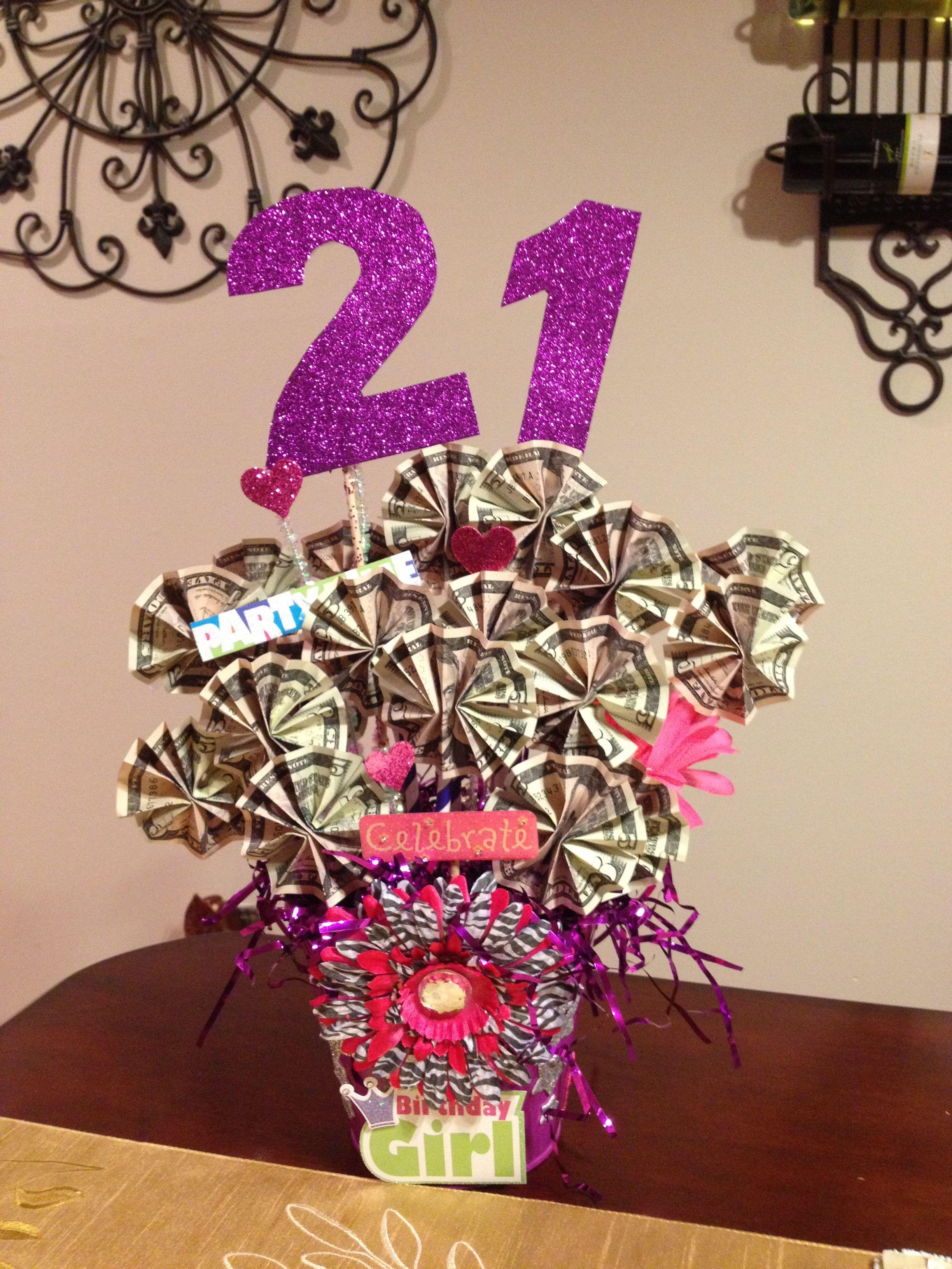 Pin By Lisa Hodgkinson On Birthday Gift Baskets Gift Card Tree Birthday Money Gift Cards Money