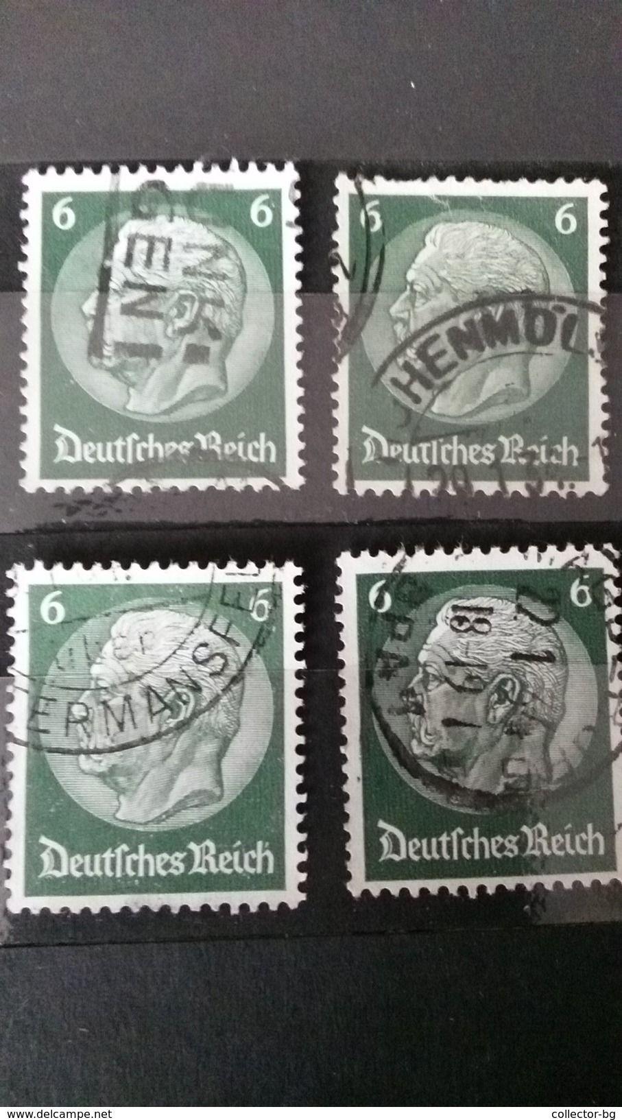 RARE SET LOT 6 PFENNIG GERMANY EMPIRE DEUTSCHE REICH