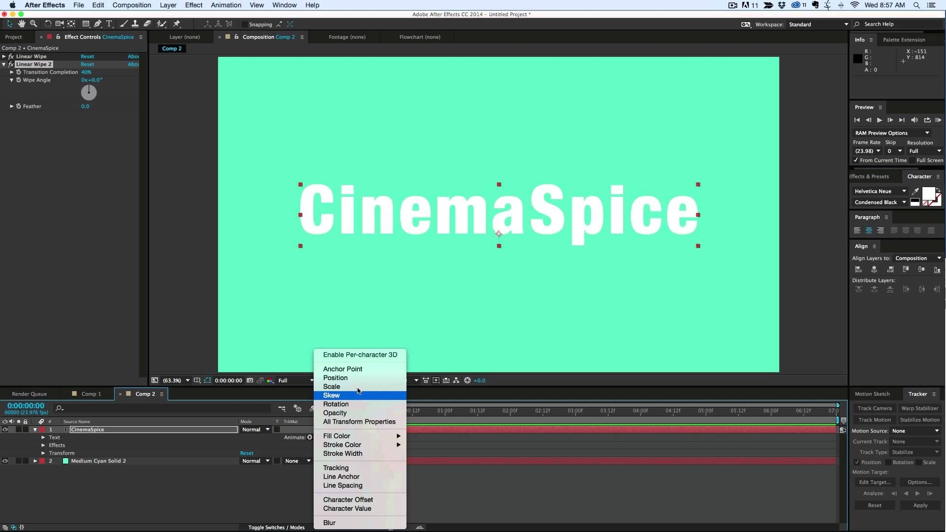 Text reveal without masks or track mattes in after effects after text reveal without masks or track mattes in after effects baditri Choice Image