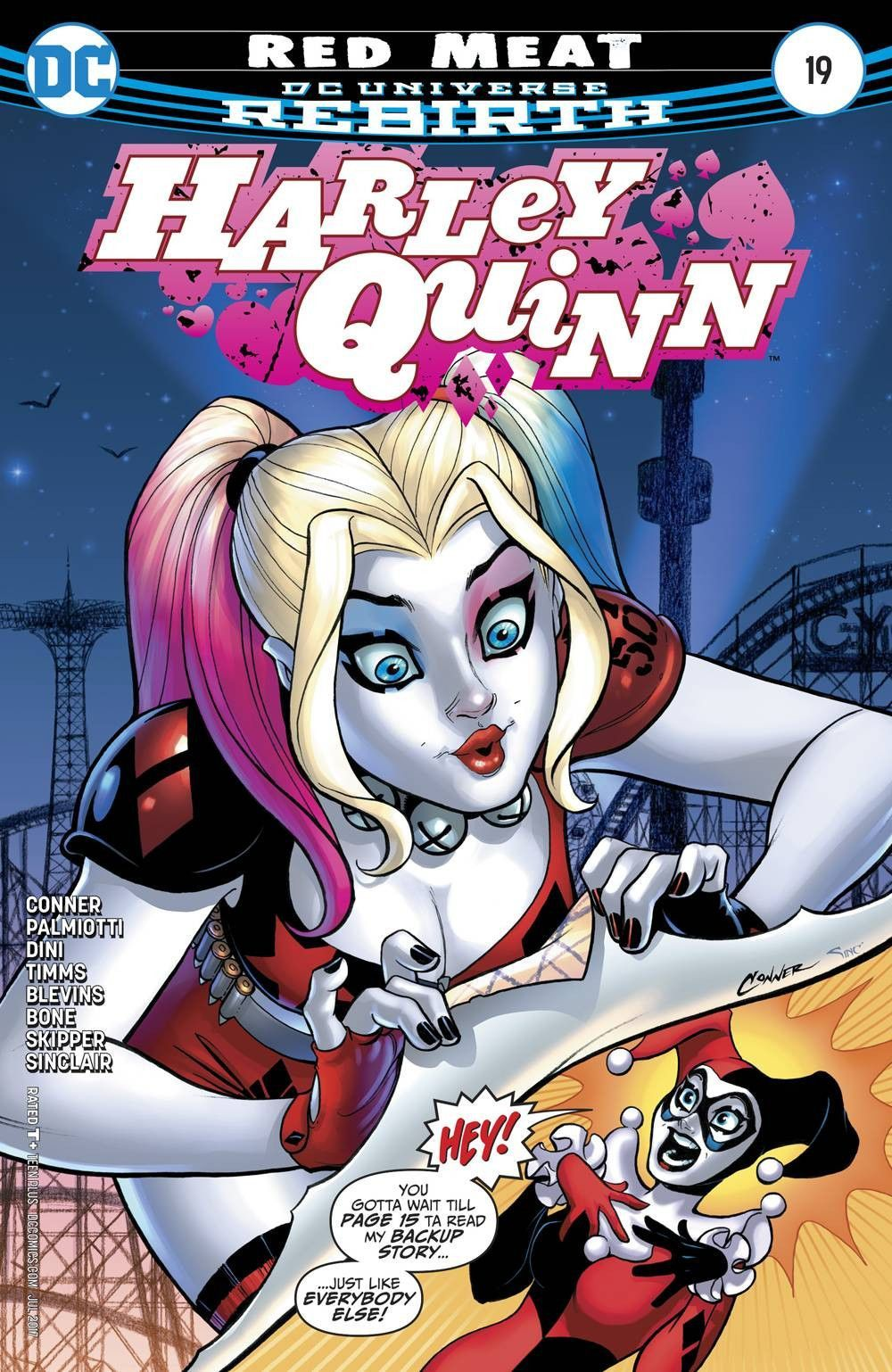 Officially Licensed Harley Quinn 11 x 14  Art Prints Choice of 5