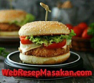Chicken Burger Resep Masakan Masakan Resep Burger