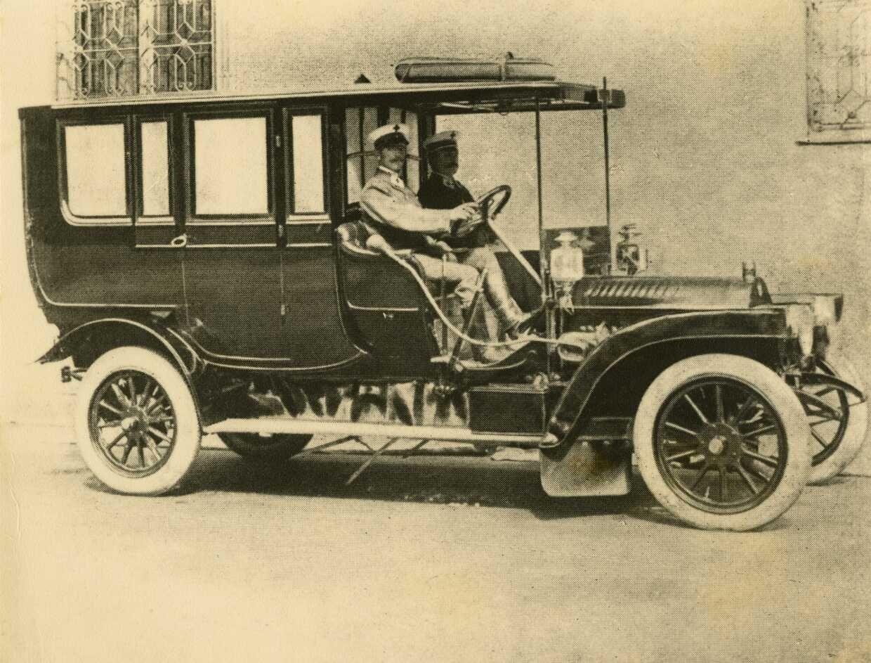 Krankenwagen Österreich 1920