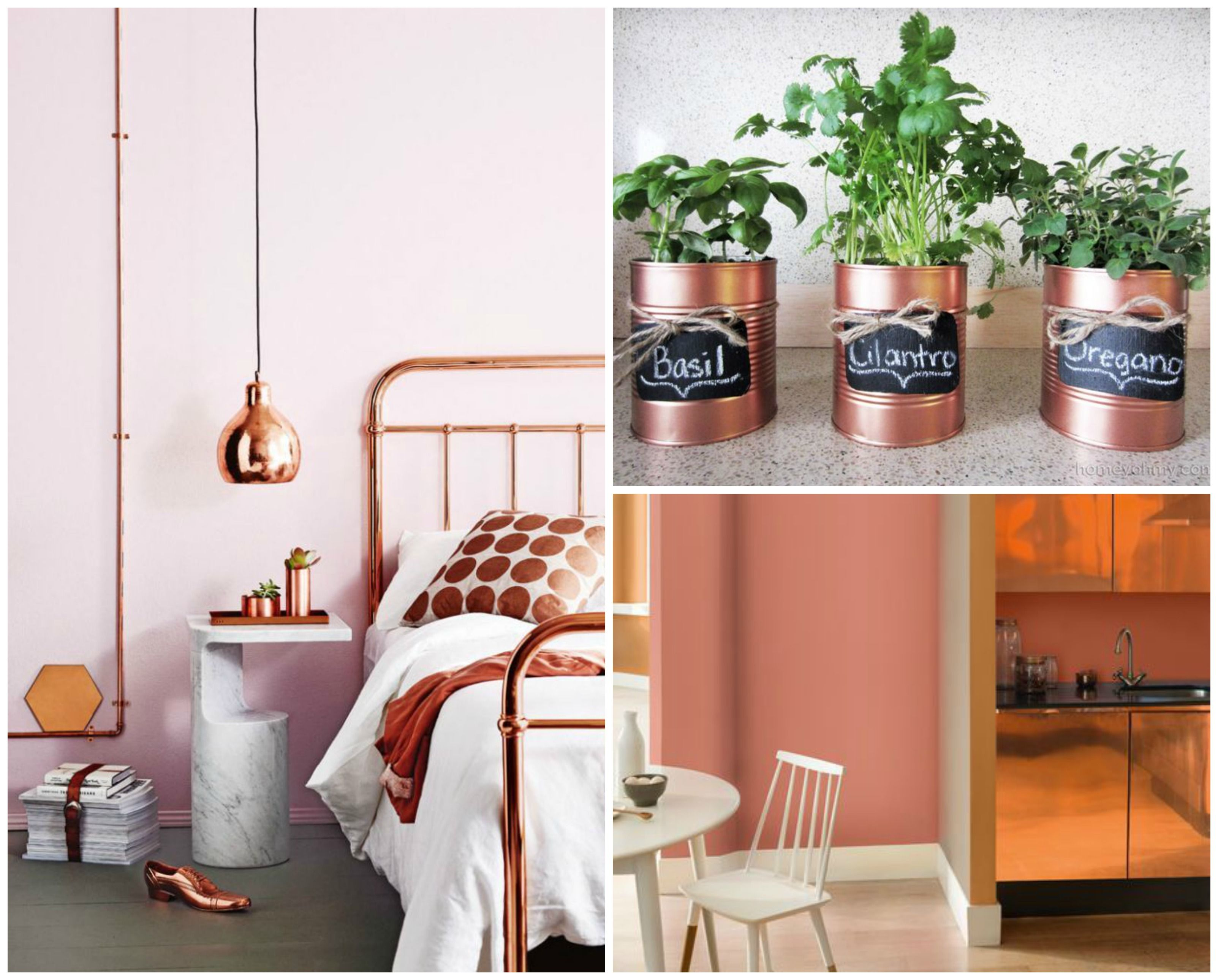 teale, copper and green decor | Home Decor Styles 2015 | Trend Home Design  And