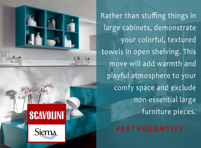 #designtips from Scavolini by Siema #‎inspiration‬ ‪#‎kitsilano‬ ‪#‎vancouver‬ #‎bathroomstorage‬ ‪#‎bathroomvanity‬ ‪#‎bathroomcabinets‬ ‪