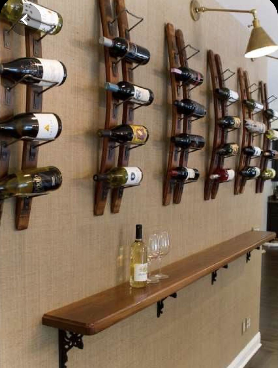 Epingle Sur Etageres A Bouteilles De Vin