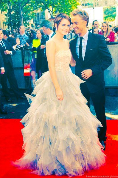 Emma Watson And Tom Felton Please Just Get Married Already P Harrypotter Harry Potter Cast Dramione Harry Potter Love