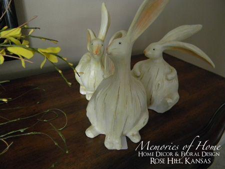 White Bunnies  $10.95 plus shipping.