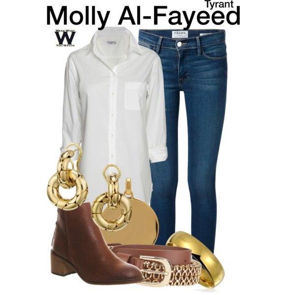 Inspired by Jennifer Finnigan as Molly Al-Fayeed on Tyrant. | Wear ...