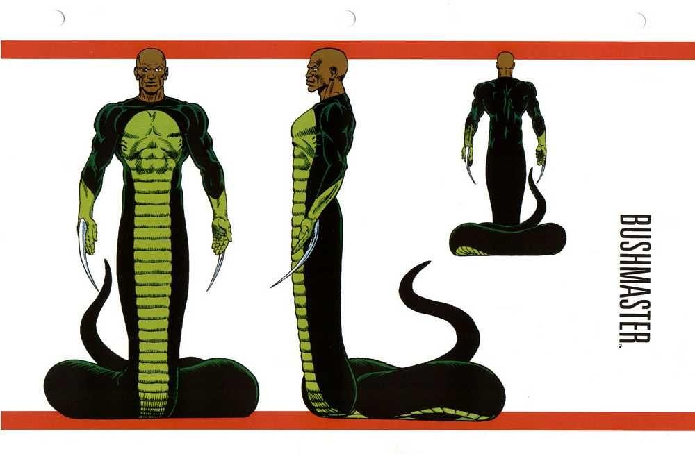 Bushmaster  Marvel    Black Super Villians   Marvel villains