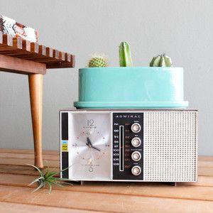Admiral Radio/Alarm Clock now featured on Fab.