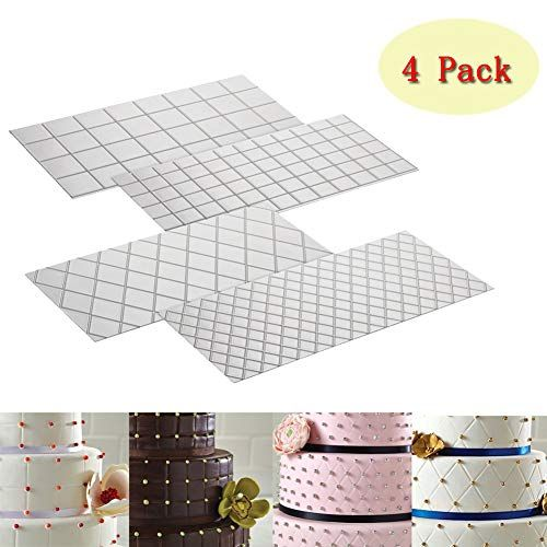 Cake Fondant Impression Mat Mold Diamond Quilted Grid Tex Wedding Cakes With Cupcakes Wedding Cupcakes Wedding Cake Decorations