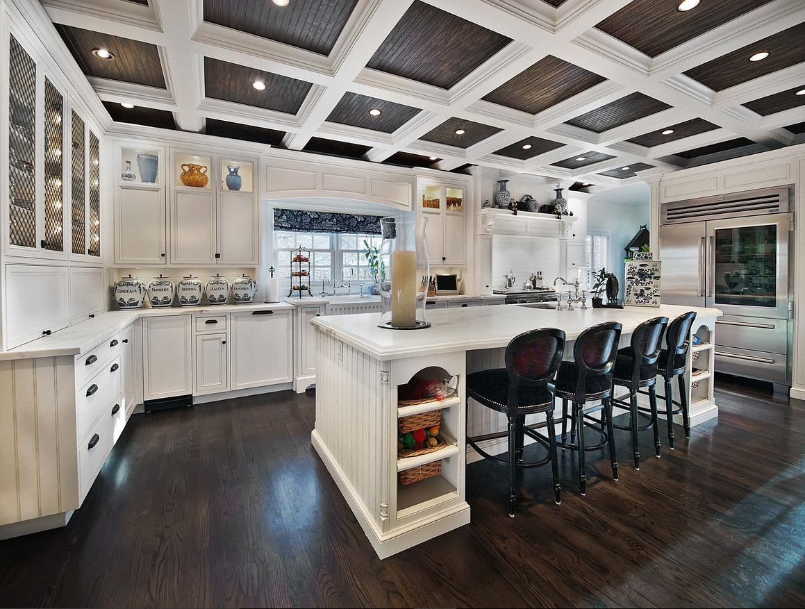 Dark Walnut Stain High Gloss Beadboard Ceiling Porch Ceiling Best Ceiling Paint