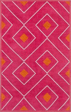 Image Result For Hot Pink And Orange Rug Graphic Rug Pink And