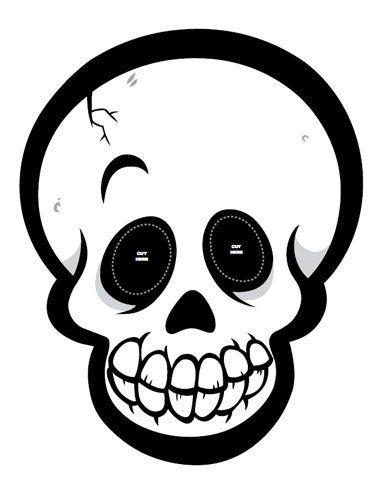 Doce Mascaras De Halloween Para Imprimir Dibujos De Halloween Esqueletos Halloween Caretas Halloween
