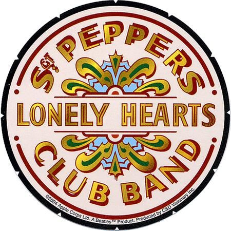 Sgt Peppers Lonely Hearts Club Band Badge Insert Atc Beatles