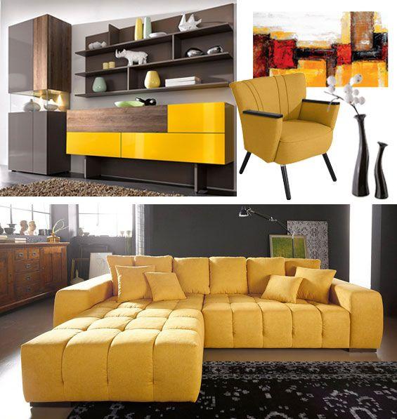 frische gelbtone kombinieren moderne landhauser landhaus mobel modernes frisch landhausstil wohnen