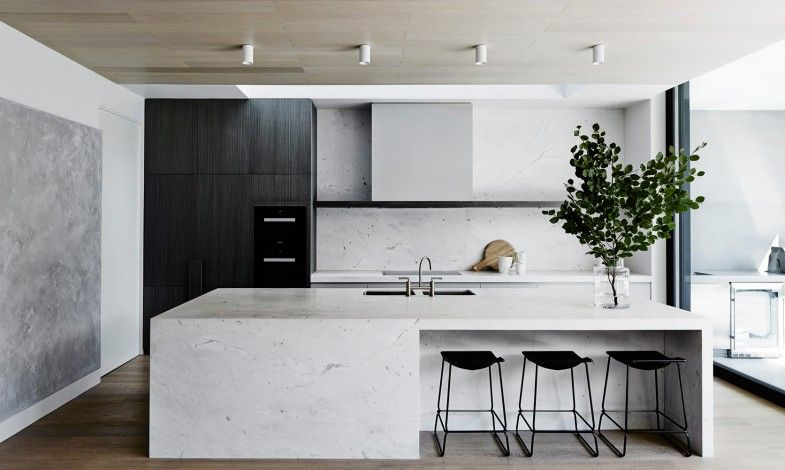 Best Modern Minimal Kitchen In Stone And Dark Wood I T Pc 640 x 480