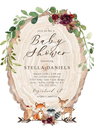 , Fall Baby Shower Invitation, Woodland, Instant Download, Autumn Invites, Gender Neutral, Girl, Editable Template, Templett –, My Babies Blog 2020, My Babies Blog 2020