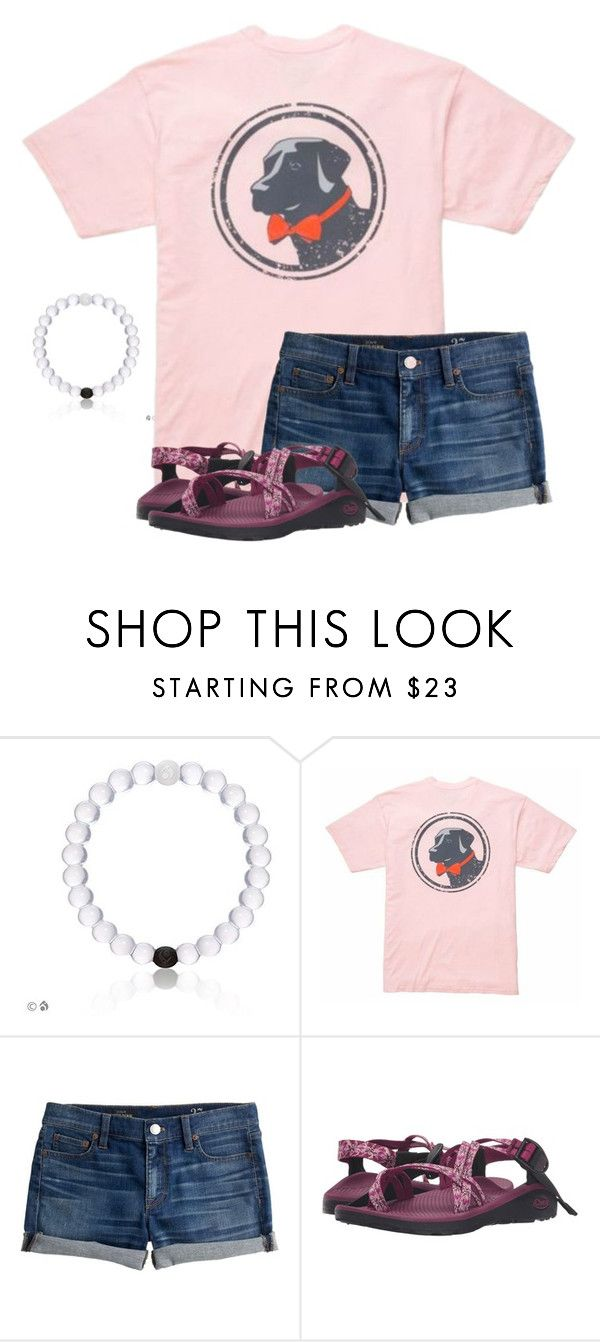 """just ordered my first Lokai bracelet!!"" by southern-prepx ❤ liked on Polyvore featuring Southern Proper, J.Crew and Chaco"
