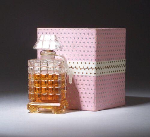 """""""La Fete des Roses,"""" a perfume bottle for Caron, circa 1955"""