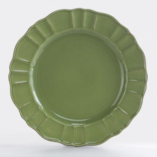 Elegant Tableware For Dining Rooms With Style: Verde Dinner Plates >> #WorldMarket Dining Room
