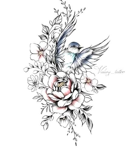 60 Trendy Mandala Bird Tattoo Drawings Tattoo Bird In 2020 Birds Tattoo Tattoo Drawings Jasmine Flower Tattoos