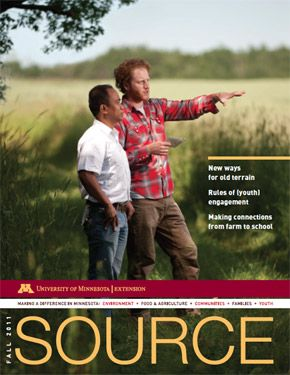 "University of Minnesota|Extension Magazine called ""Source"""