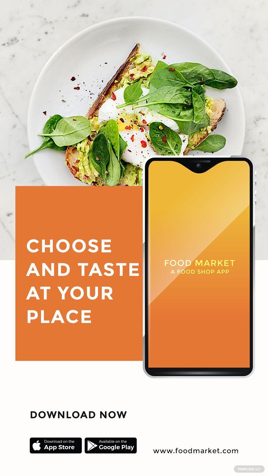Free Food Mobile App Promotion Instagram Story In 2020 App