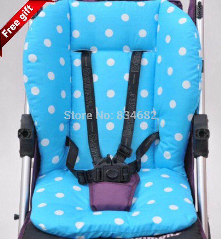 High Quality Baby Stroller Cotton Pad Cushion Waterproof Thicken Pram Mat LinerP