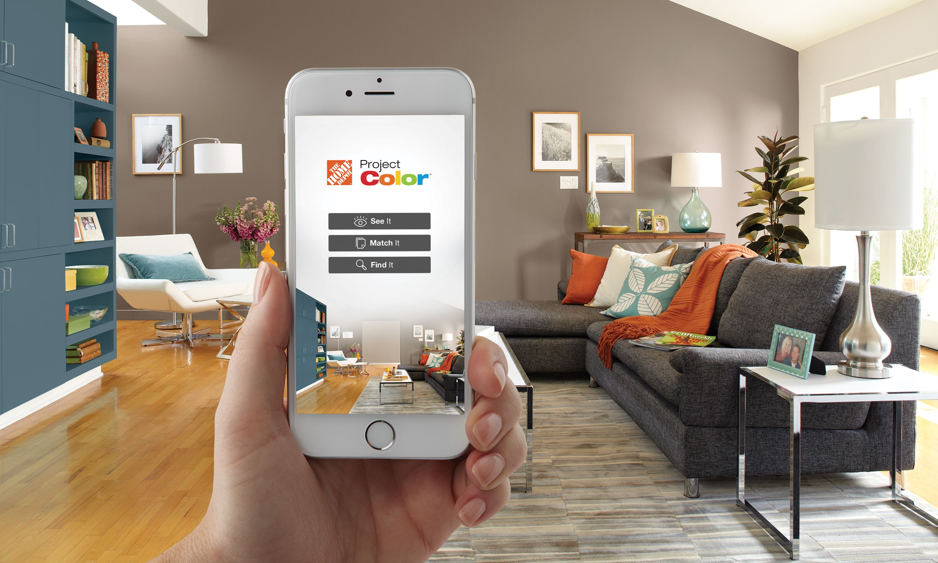 New Technology Shows You The Perfect Paint Color Before It S On