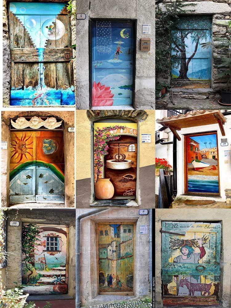 Street Door Art Creative Painted Doors Around The World