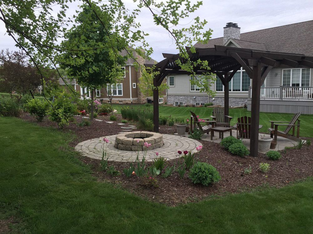 Backyard Services Llc In 2020 Backyard Backyard Landscaping Home Landscaping