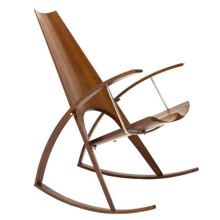 Stupendous Leon Meyer Studio Craft Rocking Chair Great Chairs Mostly Caraccident5 Cool Chair Designs And Ideas Caraccident5Info