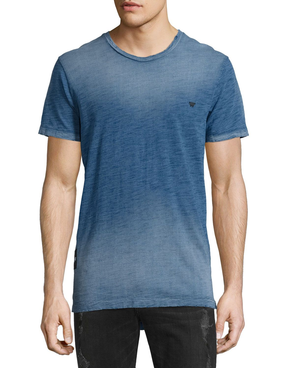 d0533f48918ae3 Russell Westbrook Collection Elongated Short-Sleeve Slub T-Shirt ...