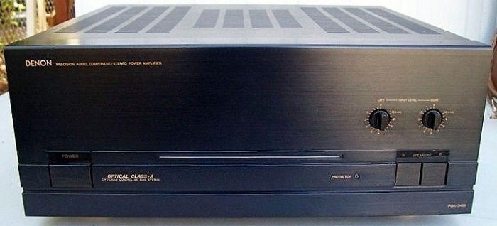 Denon Poa 2400 Power Amplifier Audio Equipment