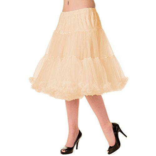 Banned Damen Petticoat Tutu Unterrock Lang - Starlite ...