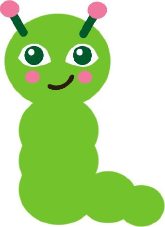 Green Worm Clip Art