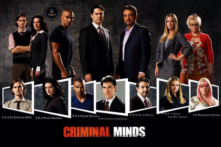 Spencer Reid Emily Prentiss Derek Morgan Aaron Hotchner David