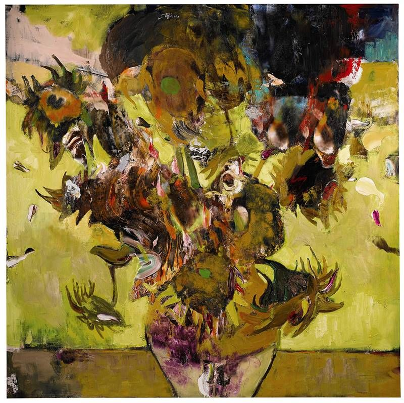 Adrian Ghenie The Sunflowers In 1937 2017 Br Image