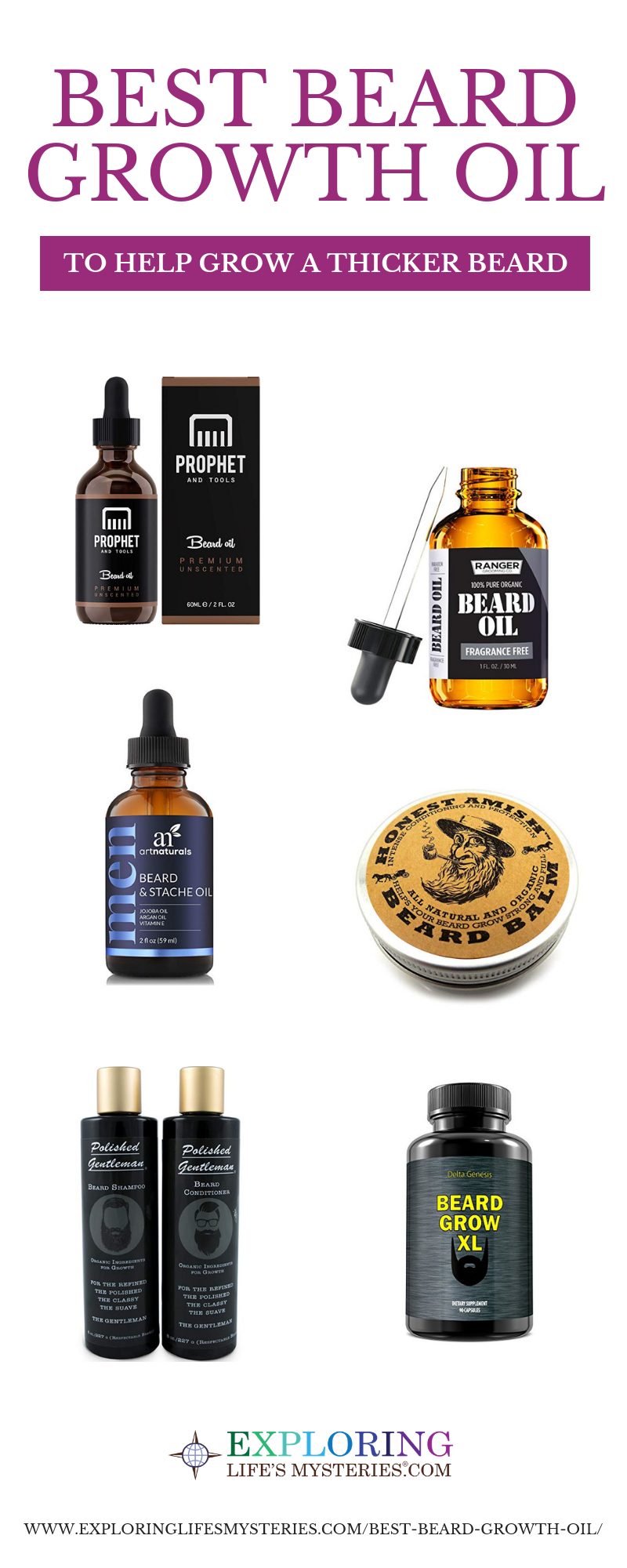 Best Beard Growth Oil: How to Go From Stubble to Studly