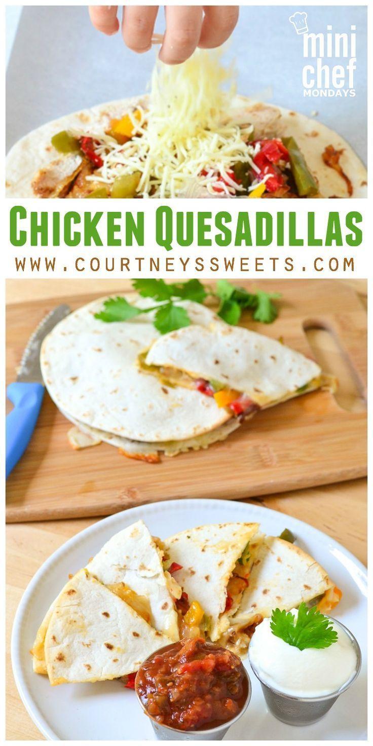 Chicken quesadillas recipe super easy restaurant style