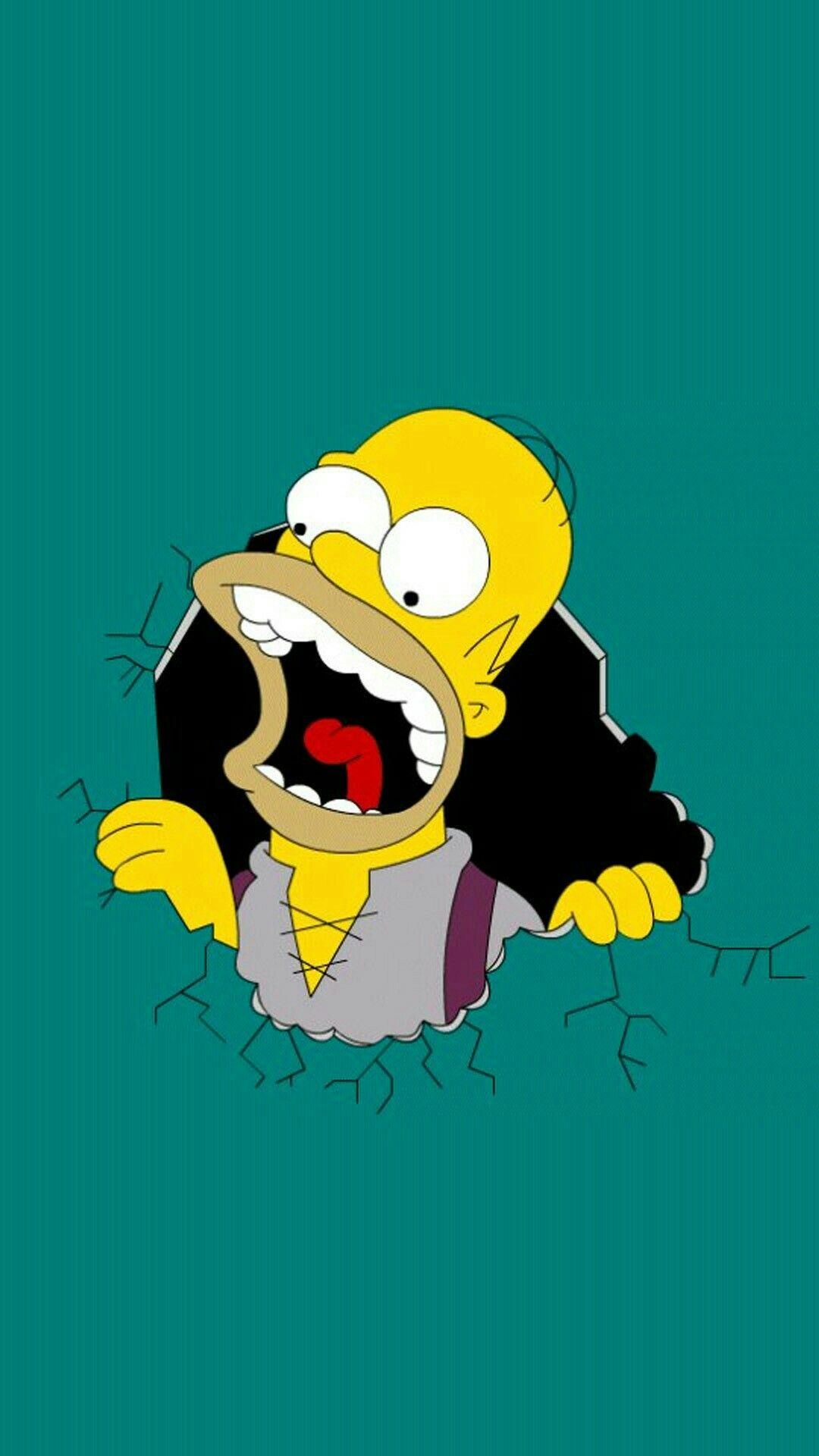 Pin De Mi Caa En Homero Fondos De Los Simpsons Los Simpson Fondo De Pantalla Simpson