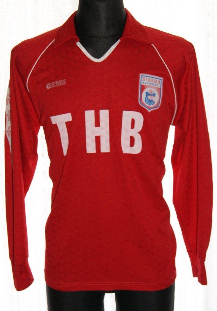 Dinamo Bucuresti Home L S 1990 - 1991 (L) Shirt Jersey Trikot Camiseta 7975f3bae