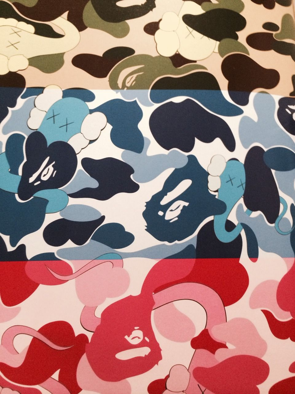 Kaws X Bape Bape Wallpapers Kaws Wallpaper Hypebeast Wallpaper