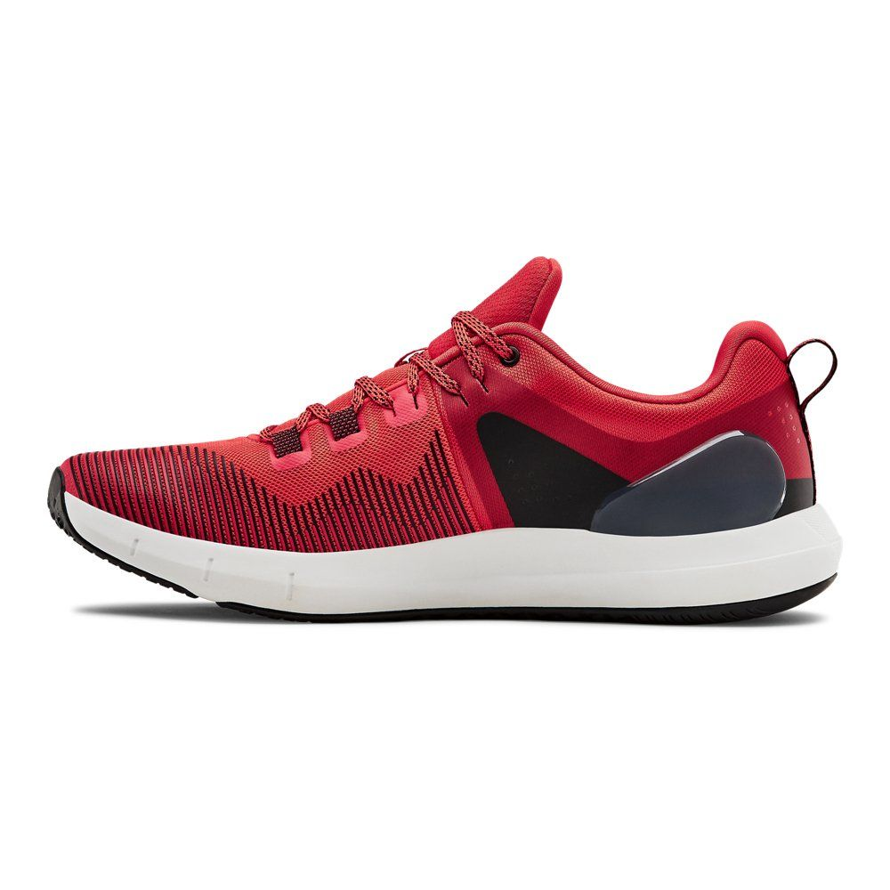 Under Armour Mens Rapid Running Shoes Trainers Sneakers Red Sports Breathable