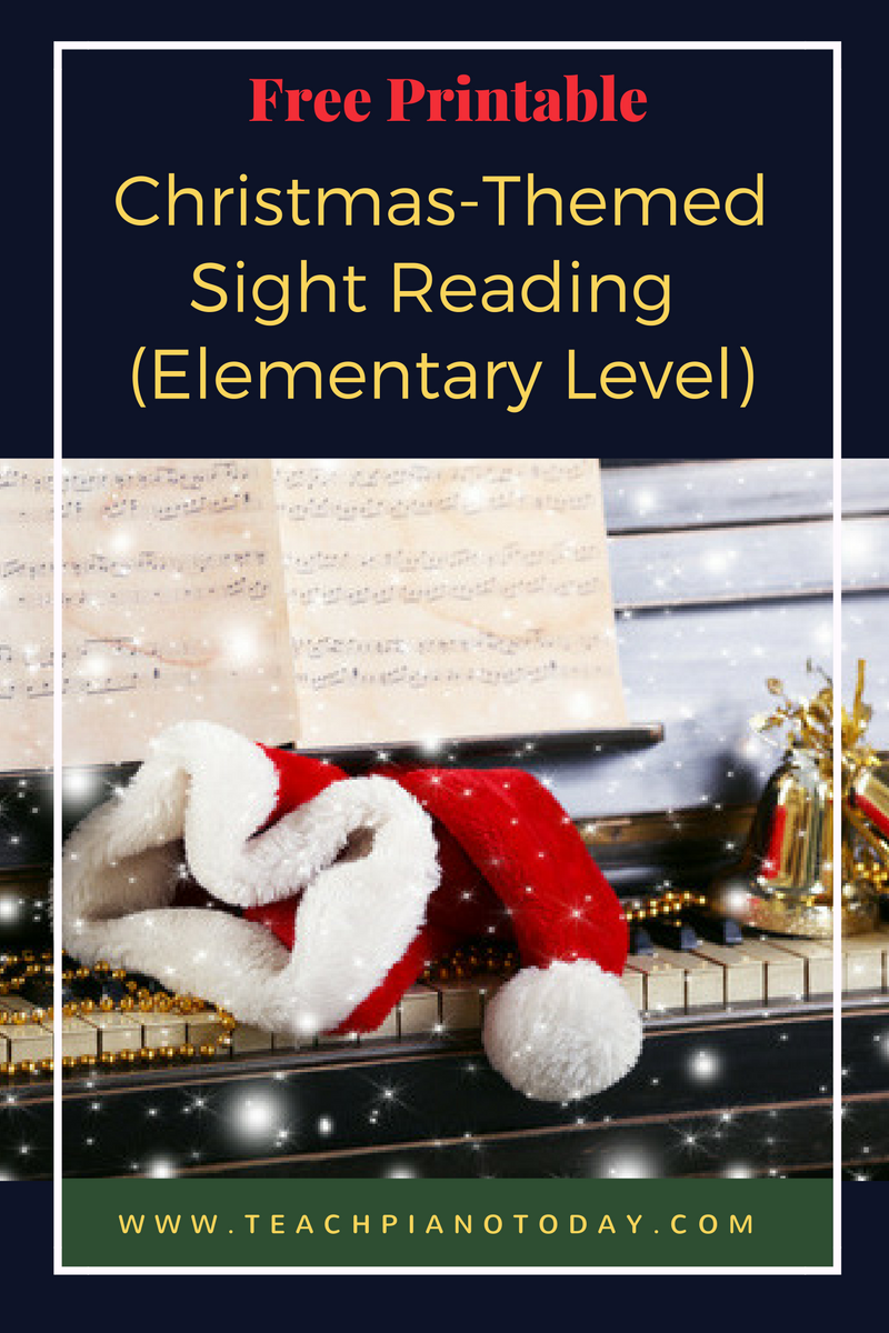 A Christmas SightReading Expansion Pack Music lessons