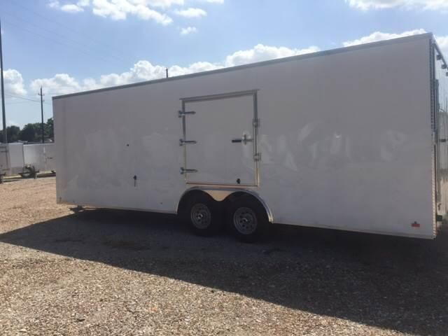 2017 Continental Cargo 8 5 X 24 Tandem Axle Enclosed Car Hauler Trailer Countryside Trailer Sales T Trailers For Sale Car Hauler Trailer Enclosed Car Hauler