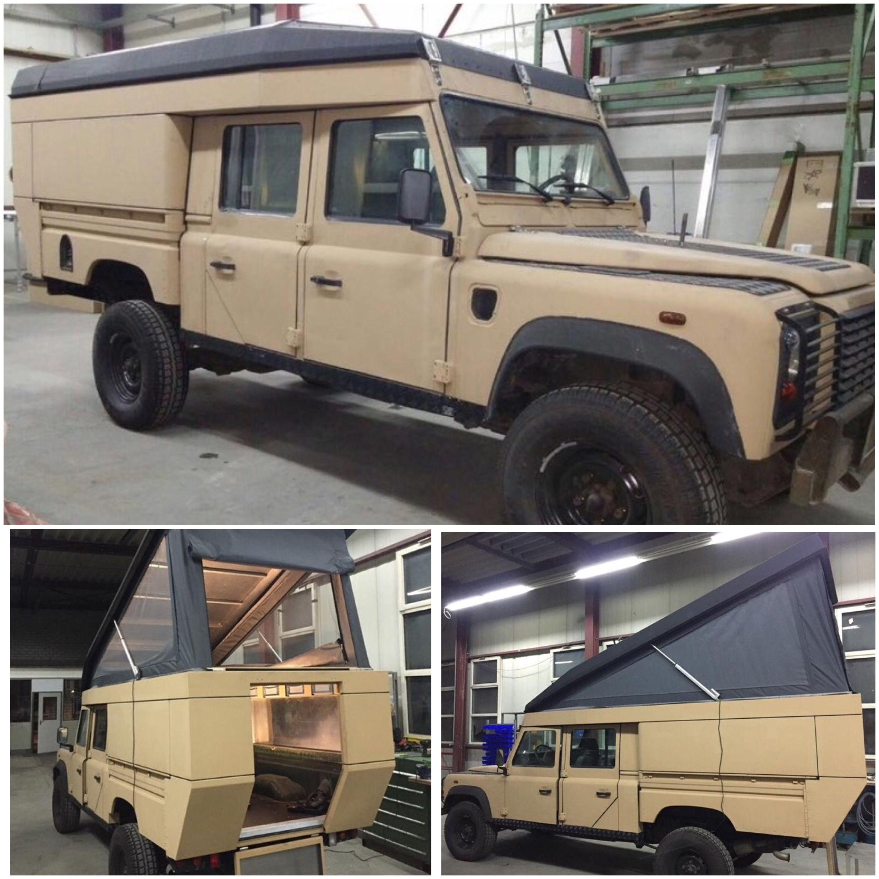 Land Rover Defender 110 Td5 Caravan Convert Land Rover Defender