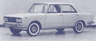 OG  Fiat 130   Prototype no.5