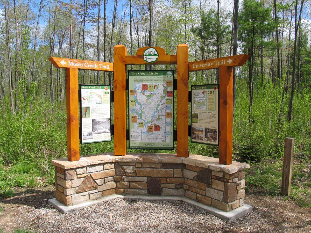 Design of kiosk structure trail call outs wilshire kiosk for Garden kiosk designs